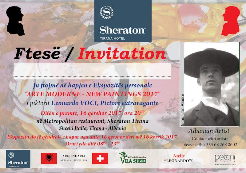 Leonardo Voci, ftesë - Sheraton Tirana