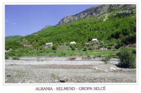 Pamje nga Kelmendi, Gropa Selcë