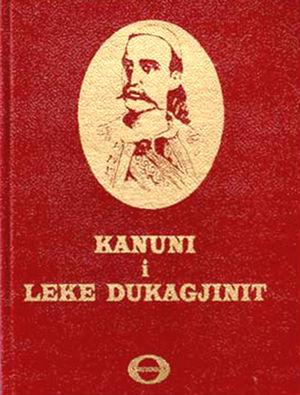 Different view of the book Kanuni i Lekë Dukagjinit