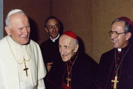 Mikel Koliqi dhe Papa Gjon Pali